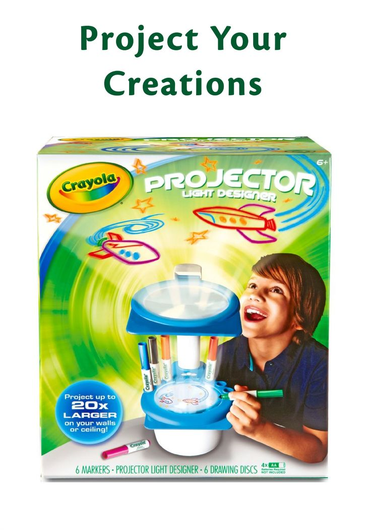 Best Crayola Toys For Kids : Show off their cool drawing with crayola projector light