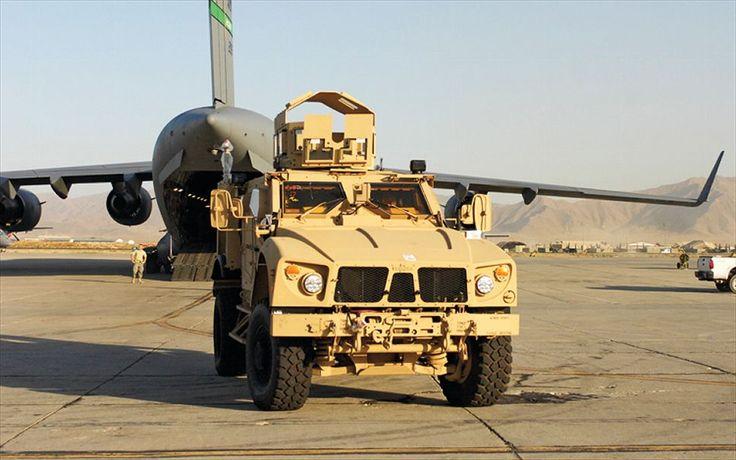 M ATV Specs   Oshkosh M ATV Military Vehicle Front View Photo 2