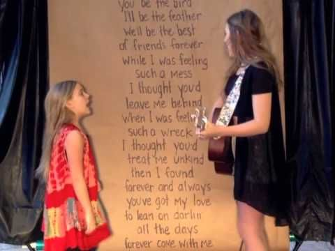 """Lennon & Maisy, how I love you. """"That's What's Up"""" by Edward Sharpe And The Magnetic Zeros Cover."""