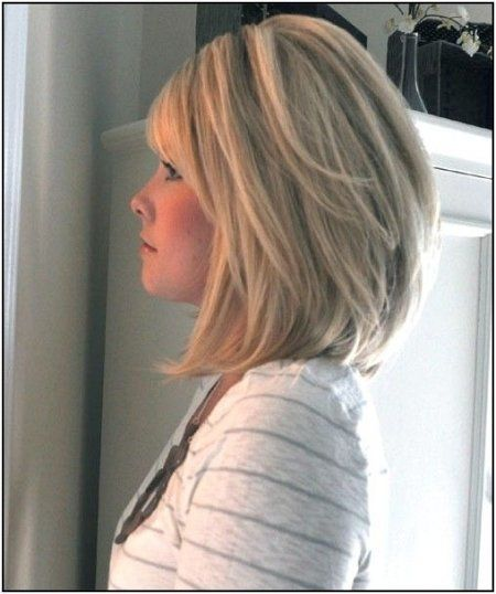 Stacked Bob Hairstyle image result for stacked bob for thin hair Longstackedhairstyles2014 Home Gt Bob Hairstyles Gt Images Of Long Stacked Bob Haircuts More