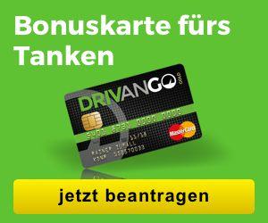 Bei jedem Tanken 5 Cent pro Liter sparen! DRIVANGO - Das Tank-Sparprogramm