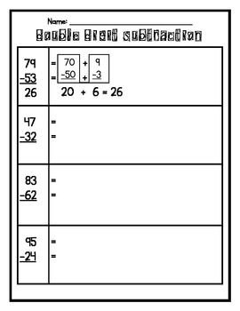 19 best double digit addition and subtraction images on Pinterest ...