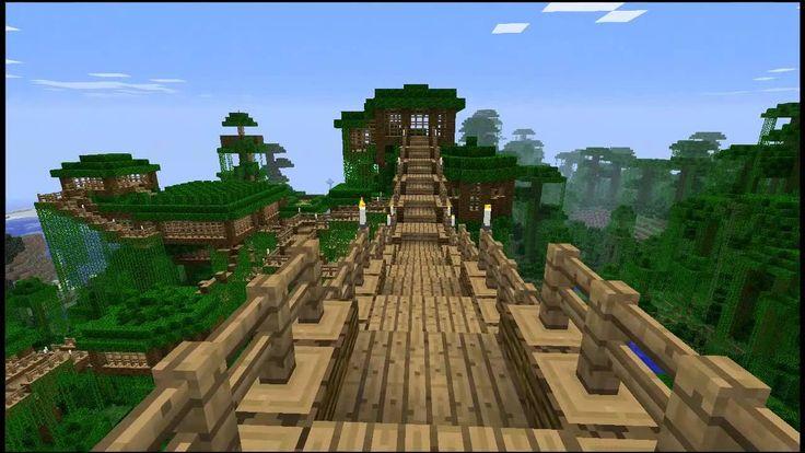 Minecraft Jungle Treehouse Design Google Search