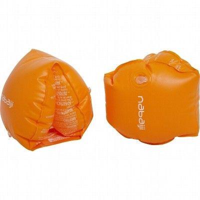Accessori nuoto Nuoto - Braccioli arancioni due camere d'aria 30-60 KG NABAIJI - Materiale piscina