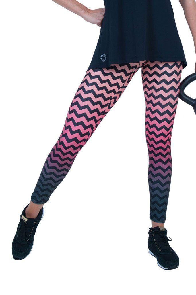 ca9e1d1d142894 Bia Brazil Twisty Print Light Pink Yoga Leggings | Products | Yoga ...