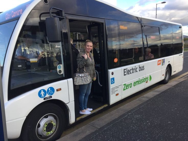 Eco friendly bus ride to and from the transport museum