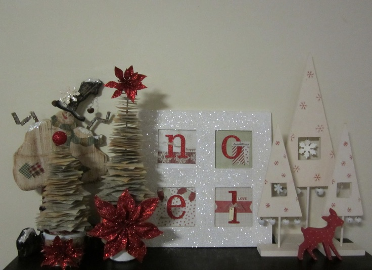 kerrie gurney [it's all about ME]: Old Book Paper Christmas Trees | Christmas Decor 2012 | #christmascreating #christmastree #bookpaper #papercrafting