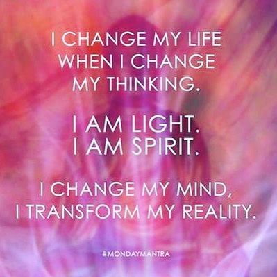 "Abundant Hippie (@theabundanthippie) on Instagram: ""When I change my mind I transform my reality, my day and Life prove it #mondaymantra…"""