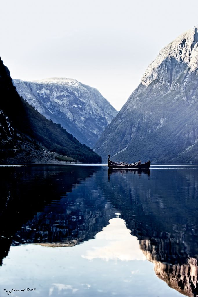 Norwegian reflections.: Water, Adventure, Mountain, Norwegian Fjords, Nature Photography, Lake, Places, Norway