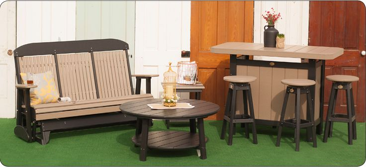 Outdoor Poly Furniture | LuxCraft | Swiss Country Lawn & Crafts | Sugarcreek OH @Swiss Country Lawn and Crafts