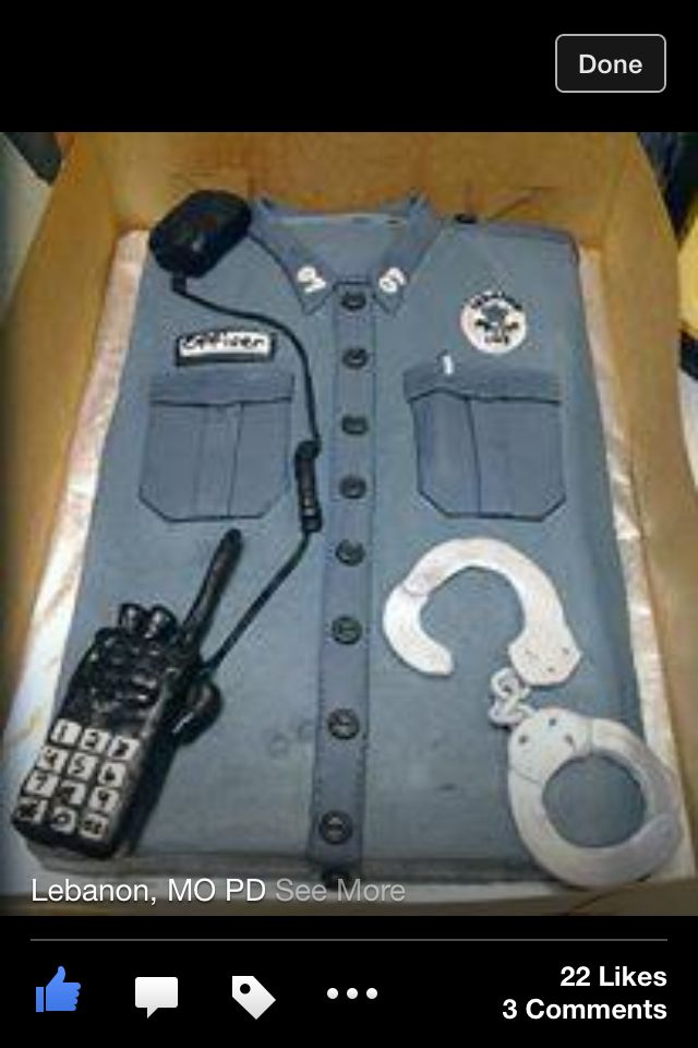 Police Cake Best 161 Retirement Party Ideas