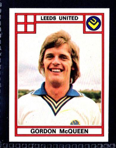 PANINI-FOOTBALL-78-1978-No-165-GORDON-McQUEEN-LEEDS-UNITED
