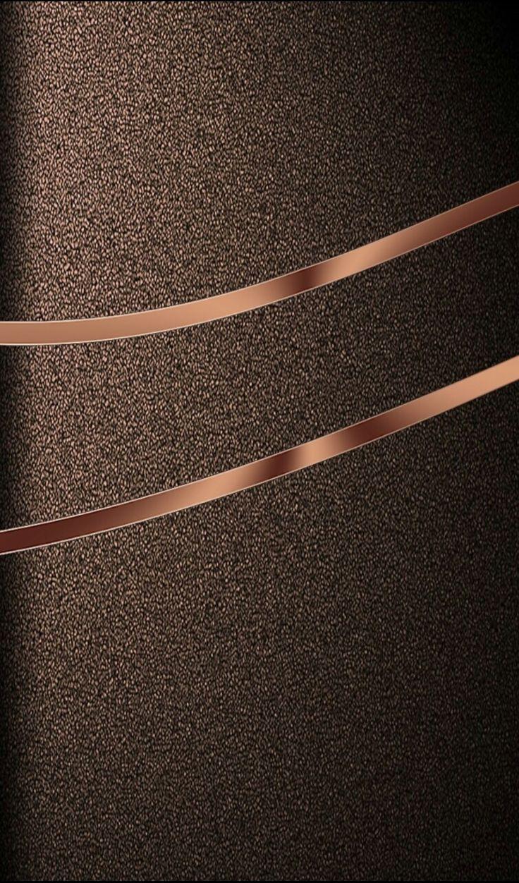 Brown textured wallpaper chrome textured steel suede for Fond ecran s8