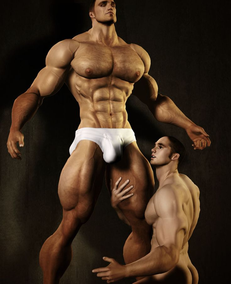 Albron Is Creating 3D Gay Muscle Men  Alex Bronnings -4740