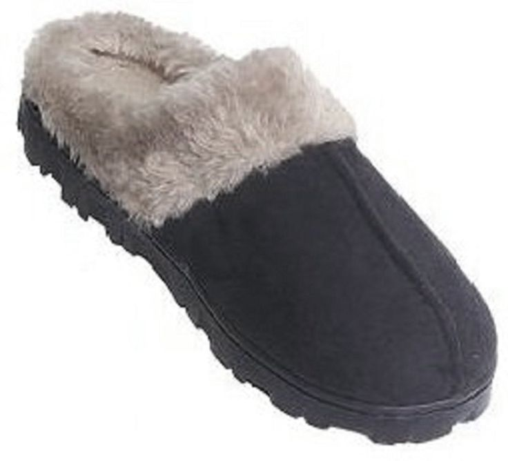 Womens Faux Shearling Indoor/outdoor Slippers * New and awesome product awaits you, Read it now  : Women's Shoes