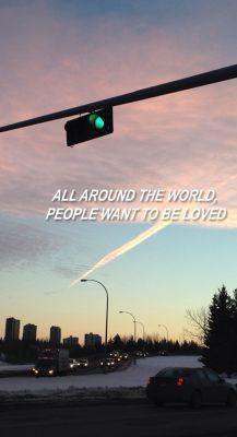 All Around The World • Justin Bieber