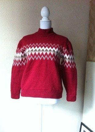 Kaufe meinen Artikel bei #Kleiderkreisel http://www.kleiderkreisel.de/damenmode/strickpullover/140787856-crane-thermoski-pullover-100-merinowolle-m-rot-norweger