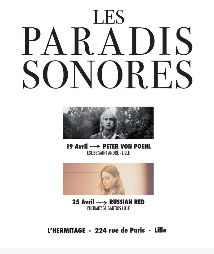 Les paradis sonores - Russian Red