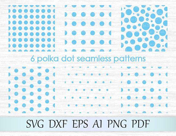 Number pattern set bundle SVG cut file Poke a dot chevron patterns DXF EPS