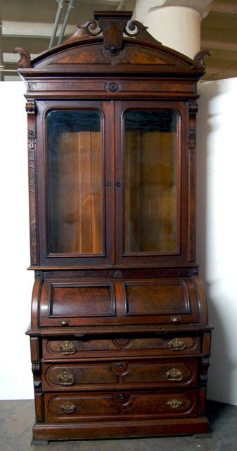 17 images about antique side by side secretary on