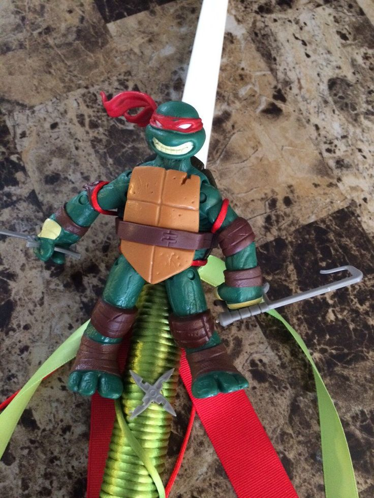 A personal favorite from my Etsy shop https://www.etsy.com/listing/224535624/tmnt-ninja-turtles-figurine-greek