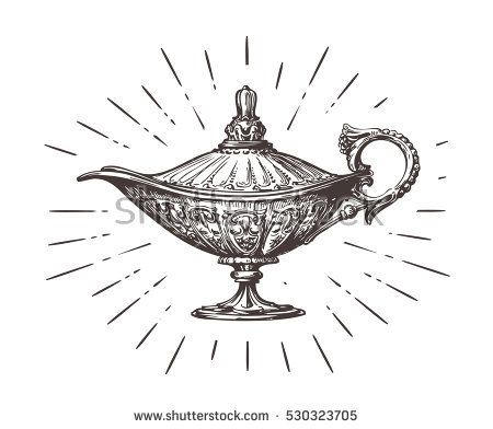 Image result for magic genie lamp pillow
