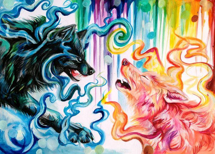 45 best Wolf Art images on Pinterest | Wolf tattoos ...