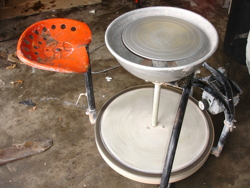 Randall Pottery Wheel Electric Clay Potters Kick Wheel ...