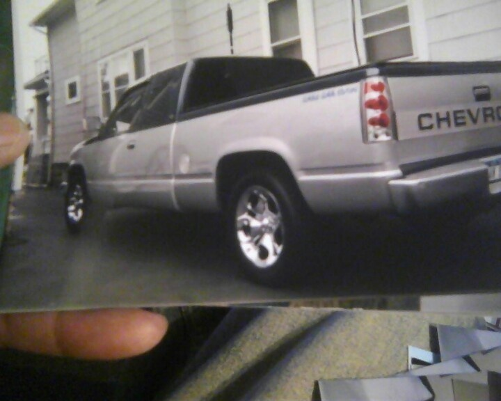 1993 Chevy Silverado after 2 tone paint