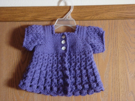 Baby Girl Crochet Sweater