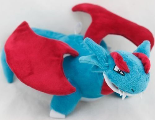 Pokemon Salamence Soft Plush Figure Toy Anime Stuffed Animal 12 Inch Child Gift Doll – Pokemon Toys: Soft toys