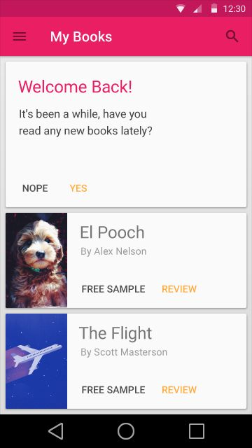 Cards - Components - Google design guidelines