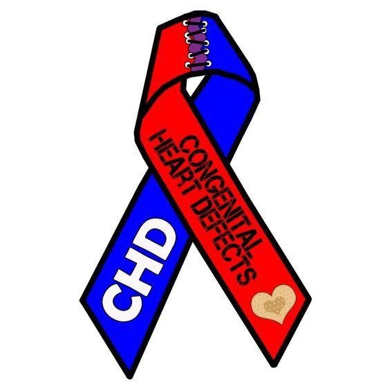 IheartEmilia CHD Awareness Ribbon: