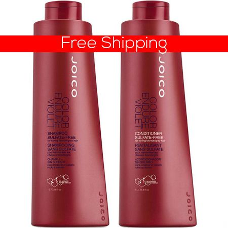 Joico Color Endure Violet Shampoo and Conditioner Duo Ltr