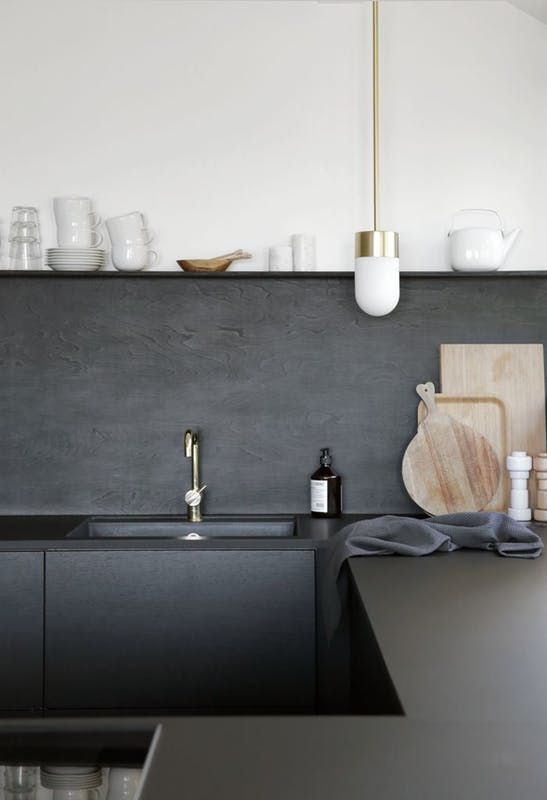 Recently, matte finishes seem to be showing up on walls, furniture, fixtures, and ceramics all over the house