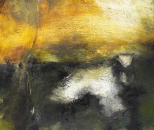 Hughie O'Donoghue painting