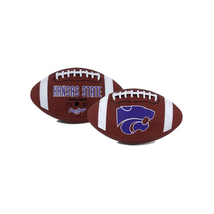 Rawlings Kansas State Wildcats Game Time Football, Multicolor