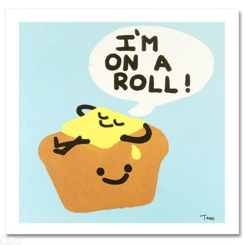 """""""I'm on a Roll!"""" LIMITED EDITION Giclee on Canvas by Renowned Pop Artist Todd Goldman"""