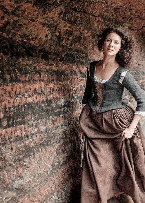 #Outlander, Caitriona Balf as Claire Fraser on Outlander ...................................