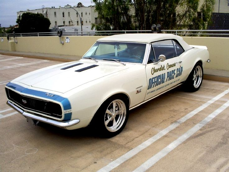 1967 Camaro SS Indy 500 pace by Partywave