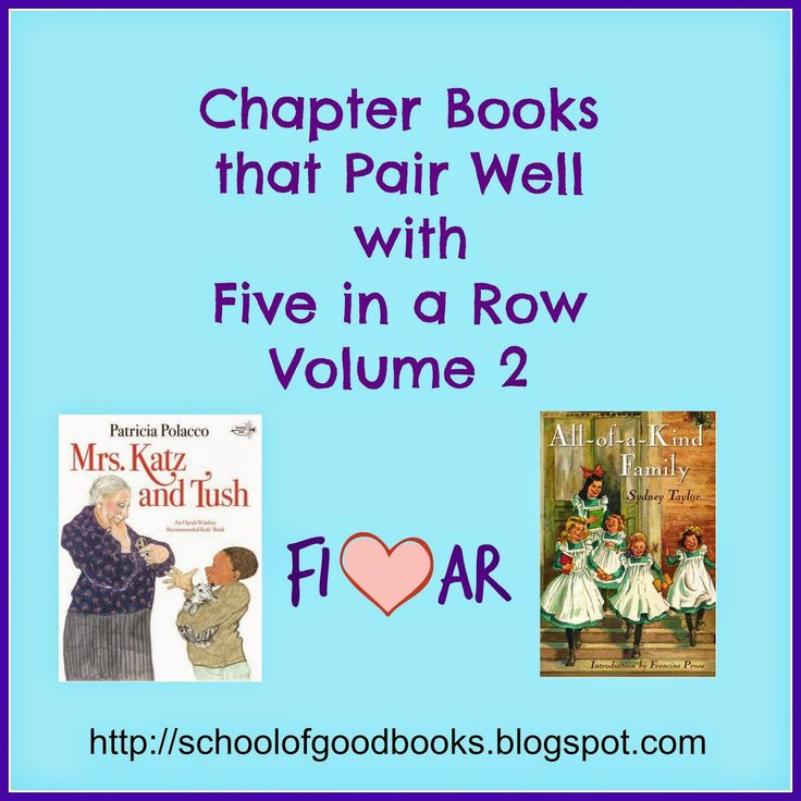 Chapter Books that Pair Well with FIAR Volume 2