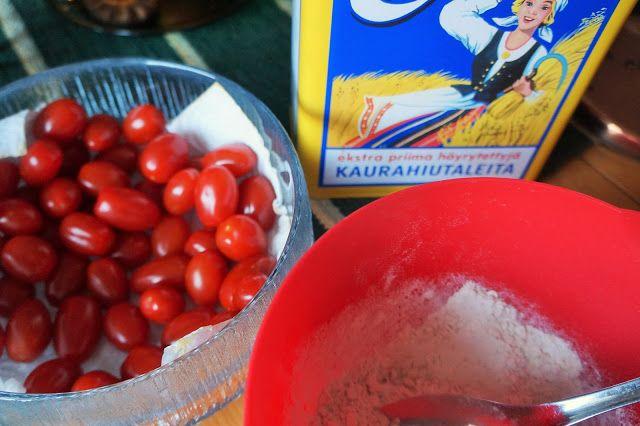 Kuiskauksia: Suolainen kaurahiutale-piirakkapohja