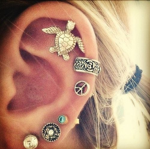 ear piercing   Tumblr