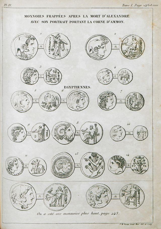 Νομίσματα της ελληνιστικής περιόδου με προσωπογραφίες του Μεγάλου Αλεξάνδρου. - COUSINÉRY, Esprit Marie - ME TO BΛΕΜΜΑ ΤΩΝ ΠΕΡΙΗΓΗΤΩΝ - Τόποι - Μνημεία - Άνθρωποι - Νοτιοανατολική Ευρώπη - Ανατολική Μεσόγειος - Ελλάδα - Μικρά Ασία - Νότιος Ιταλία, 15ος - 20ός αιώνας