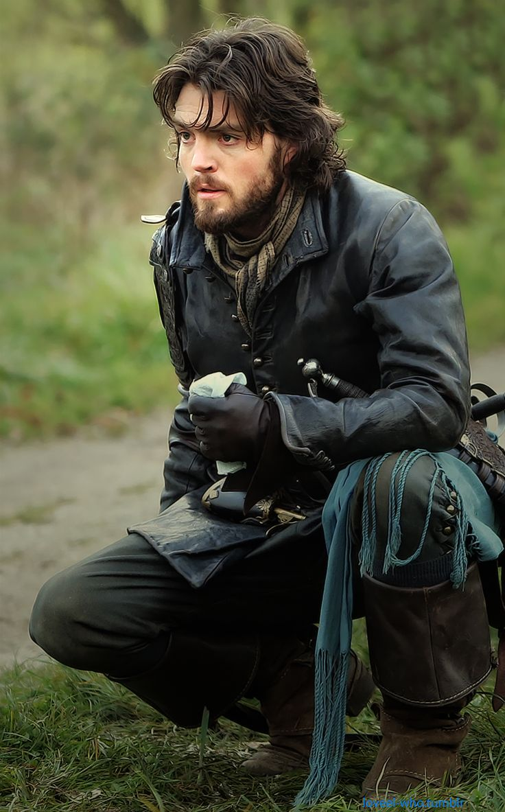 Tom Burke aka Athos on the Musketeers.  to be honest, he is a bit moody...