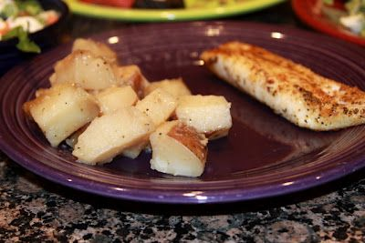Slow Cooker Poatoes -- a super easy side dish