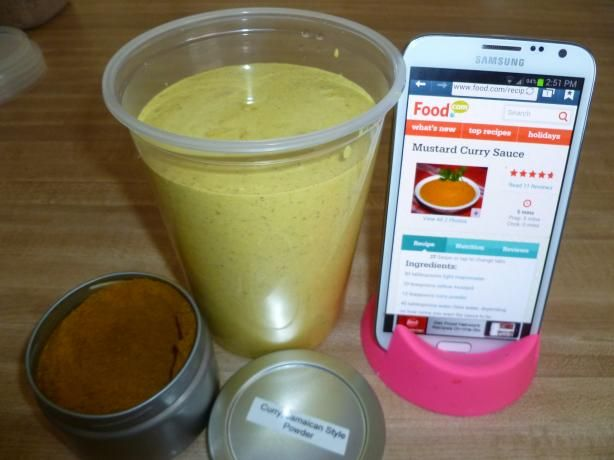 Curry Mustard sauce recipe like Chicken Kitchen and Pollo Tropical... :)