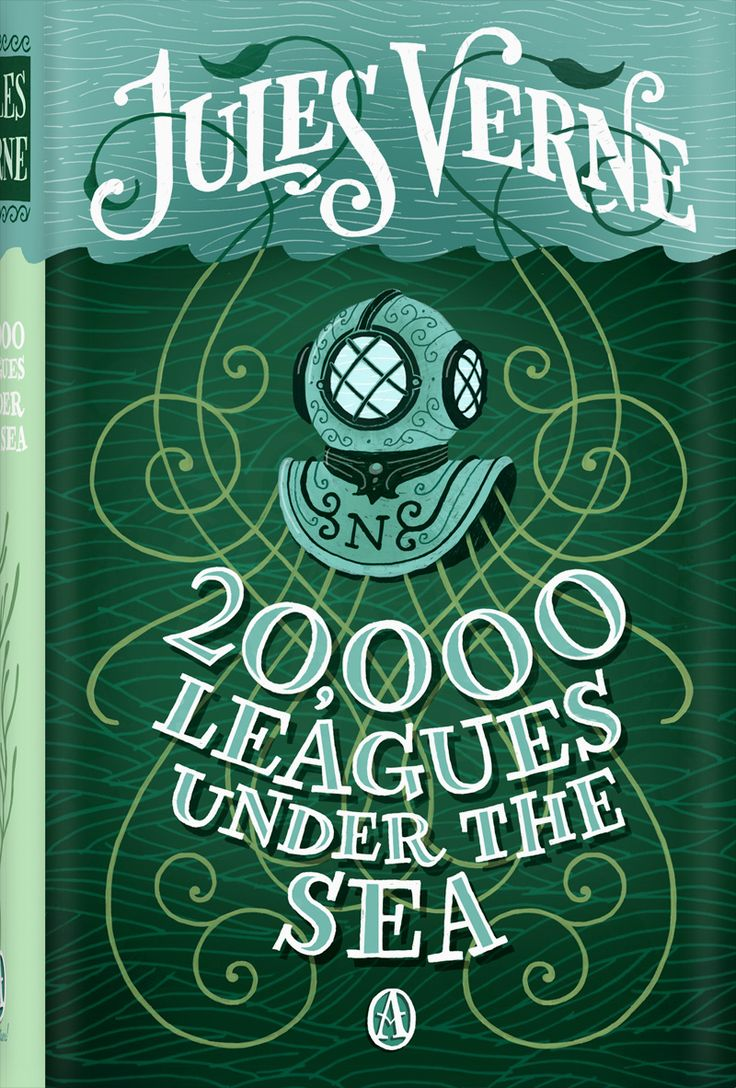 BOEK (Engels) ♦ 20.000 Leagues under the sea / Jules Verne ♦ Bib Bornem - jongerenhoek, Engelstalig ► link naar online versie