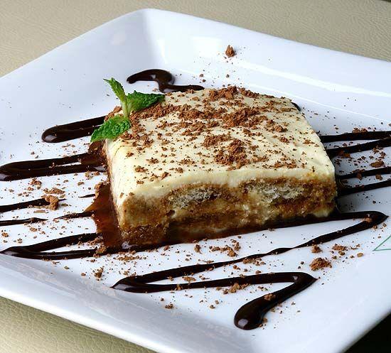 Tradicional doce italiano é feito com café expresso