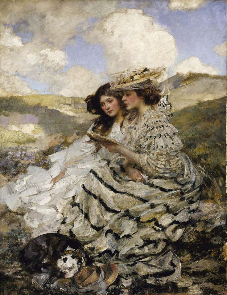 """""""On the Dunes,"""" by James Jebusa Shannon."""